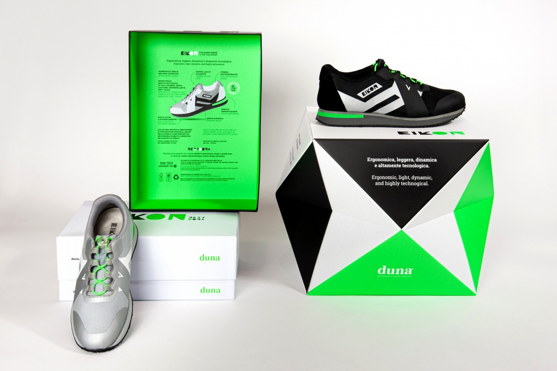 EIKON ADV Packaging 3D